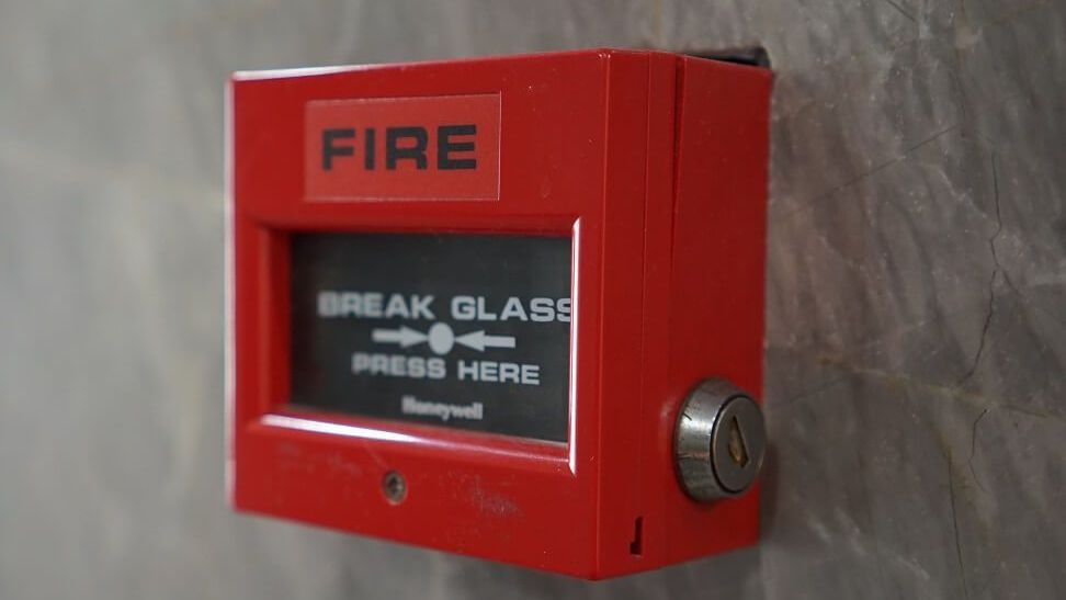 a commercial fire alarm