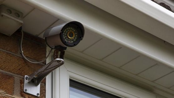 A CCTV camera we have installed